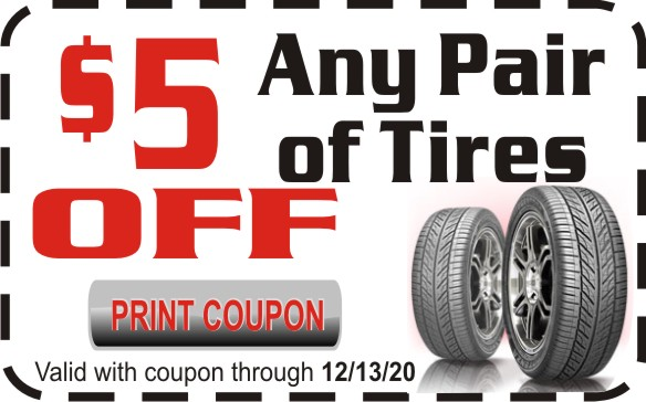 Tire Coupon